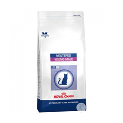 Croquettes Royal Canin Veterinary Care Neutered Young Male pour chat sac 1,5 kg