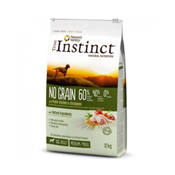 Croquettes True Instinct No Grain Medium Maxi Adult Poulet sac 2 kg