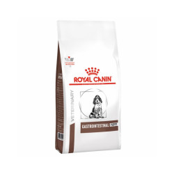 Croquettes Royal Canin Veterinary Diet Gastro Intestinal Junior pour chiens Sac 2,5 kg
