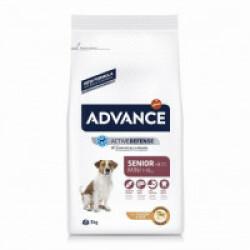 Croquettes Advance pour chiens Mini Senior Sac 3 kg
