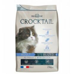 Croquettes au poulet pour chat adulte stérilisé Crocktail Flatazor Pro-Nutrition Sac 2 kg