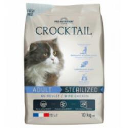 Croquettes au poulet pour chat adulte stérilisé Crocktail Flatazor Pro-Nutrition Sac 10 kg