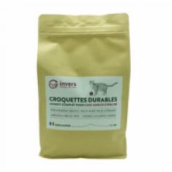 Croquettes aux protéines d'insectes pour chats stérilisés - Sac 3 kg