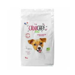 Croquettes Canichef Bio pour chien de petite race - Sac de 5kg
