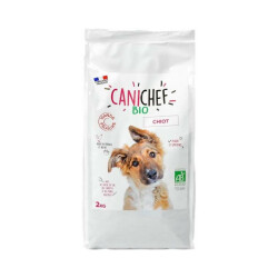 Croquettes Canichef Bio pour chiot - Sac de 2kg