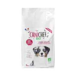 Croquettes Canichef Bio sans céréales pour chien de moyenne et grande race - Sac 5kg