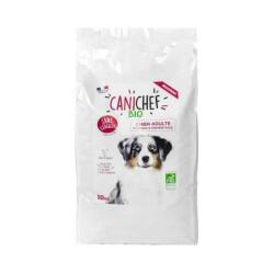 Croquettes Canichef Bio sans céréales pour chien de moyenne et grande race - Sac 10kg