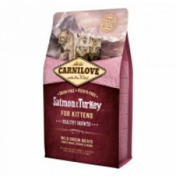 Croquettes Carnilove pour chaton healthy growth Saumon & Dinde