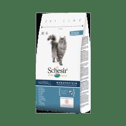 Croquettes chat anti boules de poils Schesir Sac 1,5 kg