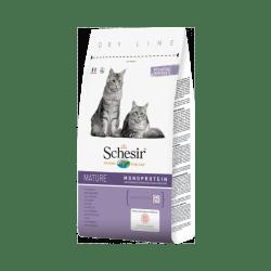 Croquettes chat senior Schesir au poulet Sac 1,5 kg