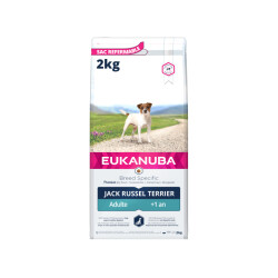 Croquettes Eukanuba Adulte Jack Russel Sac 2 kg