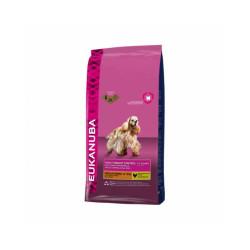 Croquettes Eukanuba DailyCare au Poulet pour chien Stérilisé de Petite et Moyenne Races - Sac 12kg