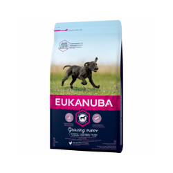 Croquettes Eukanuba Growing Puppy Grandes Races Sac 3 kg