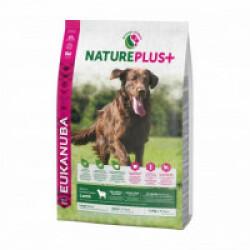 Croquettes Eukanuba Natureplus avec agneau pour chien adulte de grande race