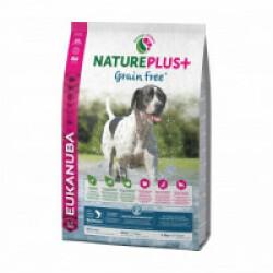 Croquettes Eukanuba Natureplus sans céréales Grain Free saumon pour chien adulte