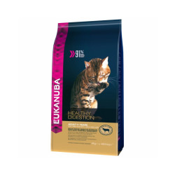 Croquettes Eukanuba pour Chat Adulte Healthy Digestion