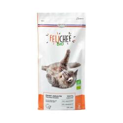 Croquettes Felichef Bio pour chat - Sac de 2kg
