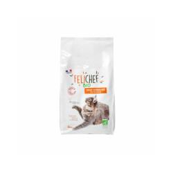 Croquettes Felichef Bio pour chat stérilisé - Sac de 2kg