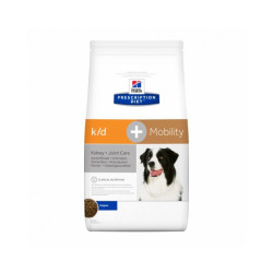 Croquettes Hill's Prescription Diet Canine K/D + Mobility