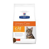Croquettes Hill's Prescription Diet Feline C/D Multicare Poulet