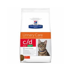 Croquettes Hill's Prescription Diet Feline C/D Multicare Reduced Calorie