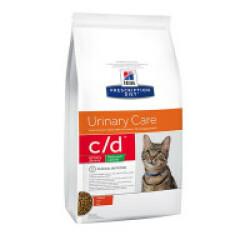 Croquettes Hill's Prescription Diet Feline C/D Urinary Stress Reduced Calorie Sac 4 kg