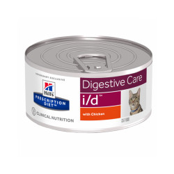 Hill's Prescription Diet Feline I/D 24 boites de 156 g