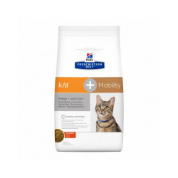 Croquettes Hill's Prescription Diet Feline K/D + Mobility