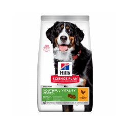 Croquettes Hill's Science Plan Canine Adult 6+ Youthful Vitality Large Breed Poulet