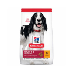 Croquettes Hill's Science Plan Canine Adulte Medium Poulet