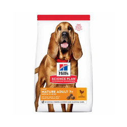 Croquettes Hill's Science Plan Canine Mature Adult 7+ Medium Light Poulet