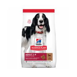 Croquettes Hill's Science Plan Canine Medium Adulte Agneau