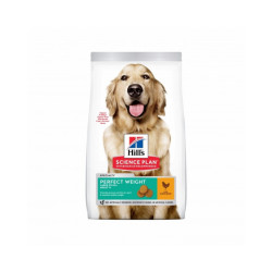 Croquettes Hill's Science Plan Canine Perfect Weight Large Breed Poulet Sac 12 kg