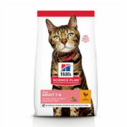Croquettes Hill's Science Plan Feline light pour chat adulte Poulet Sac 1,5 kg