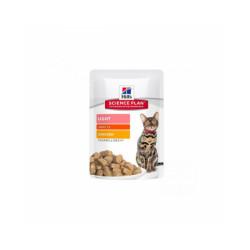 Hill's Science Plan Feline light pour chat adulte Poulet 12 Sachets de 85 g