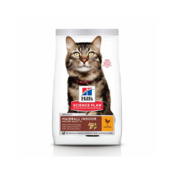 Croquettes Hill's Science Plan Feline Mature 7+ Hairball Indoor Sac 1,5 kg