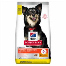 Croquettes Hill's Science Plan Perfect Digestion Small & MIni au poulet pour chien adulte Sac 3 kg
