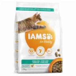Croquettes IAMS Vitality au poulet pour chat stérilisé