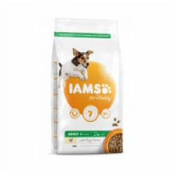 Croquettes IAMS for Vitality au poulet pour chien Adulte de Petite et Moyenne race - Sac 12 kg