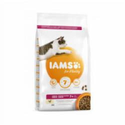 Croquettes IAMS Vitality au Poulet pour chat senior - Sac 1,5 kg