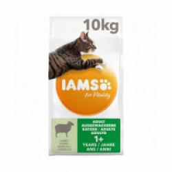 Croquettes IAMS Vitality pour chat - Sac 10 kg à l'agneau