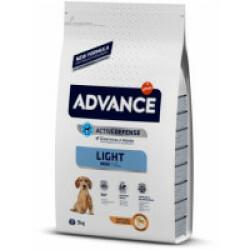 Croquettes Light pour chien adulte petite race Advance Sac 3 kg