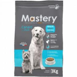 Croquettes Mastery pour chien adulte saveur canard Sac 3 kg