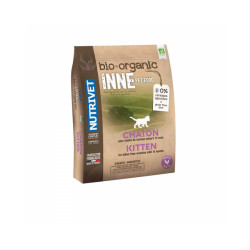Croquettes Nutrivet Inne Bio pour chaton Sac 1,5 kg