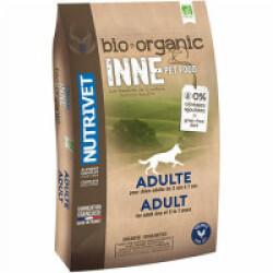 Croquettes Nutrivet Inne Bio pour chien adulte Sac 3 kg (DLUO 6 mois)