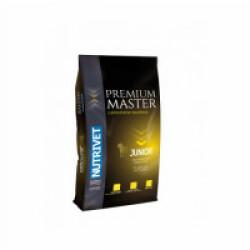 Croquettes Nutrivet Master Premium Junior pour chien - Sac 15 kg