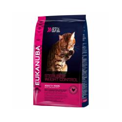 Croquettes pour chat adulte Eukanuba Light Sac 1,5 kg