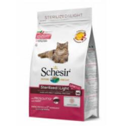 Croquettes pour chat adulte jambon Sterilized Schesir Sac 1,5 kg