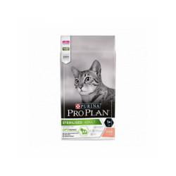 Croquettes pour chat stérilisé Pro Plan Adulte Sterilised saumon sac 1,5 kg
