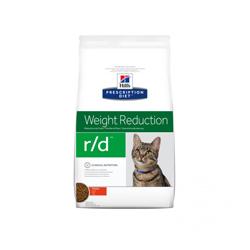 Croquettes pour chat Hill's Prescription Diet Feline Weight Reduction R/D Sac 1,5 kg